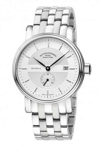 Mühle Glashütte M1-33-45-MB : Teutonia II Kleine Sekunde Silver / Bracelet