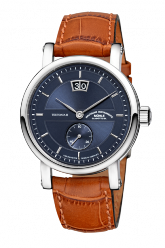 Mühle Glashütte M1-33-76-LB : Teutonia II Großdatum Chronometer Blue / Strap