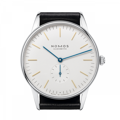 384 : Nomos Glashütte Orion 38 Glasboden