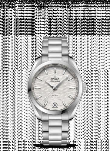 Omega 220.10.34.20.02.002 : Seamaster Aqua Terra 150M Master Chronometer 34 Stainless Steel / Silver-Waves / Bracelet