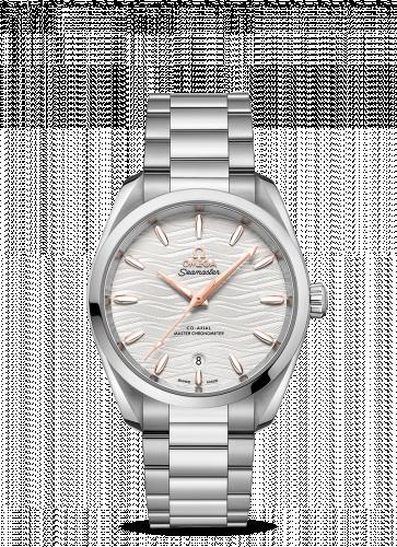 Omega 220.10.38.20.02.002 : Seamaster Aqua Terra 150M Master Chronometer 38 Stainless Steel / Silver-Waves / Bracelet