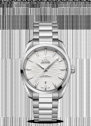 220.10.38.20.02.003 : Omega Seamaster Aqua Terra 150M Master Chronometer 38 Stainless Steel / Silver-Waves / Bracelet