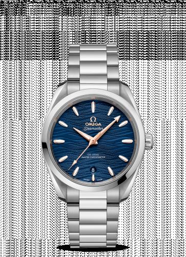 220.10.38.20.03.002 : Omega Seamaster Aqua Terra 150M Master Chronometer 38 Stainless Steel / Blue-Waves / Bracelet