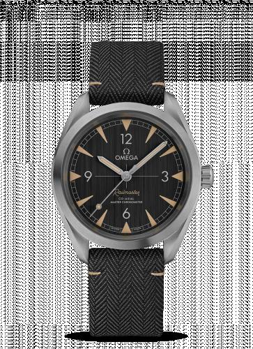 Omega 220.12.40.20.01.001 : Railmaster Omega Co-Axial Master Chronometer 40 Stainless Steel / Grey / Strap