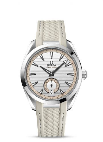 Omega 220.12.41.21.02.005 : Seamaster Aqua Terra 150M Master Chronometer Small Seconds 41 Stainless Steel / Silver / Rubber