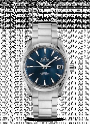 231.10.39.21.03.001 : Omega Seamaster Aqua Terra 150m Co-Axial 38.5 Stainless Steel / Blue / Bracelet / Skyfall