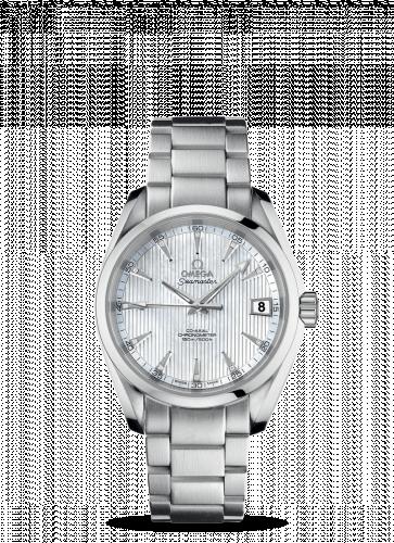 231.10.39.21.55.001 : Omega Seamaster Aqua Terra 150M Co-Axial 38.5 Stainless Steel / MOP / Bracelet