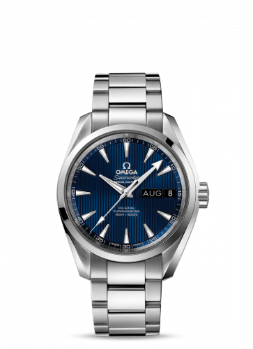 231.10.39.22.03.001 : Omega Seamaster Aqua Terra 150M Co-Axial 38.5 Annual Calendar Stainless Steel / Blue / Bracelet