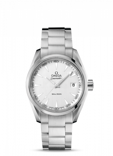 231.10.39.60.02.001 : Omega Seamaster Aqua Terra 150M Quartz 38.5 Stainless Steel / Silver / Bracelet