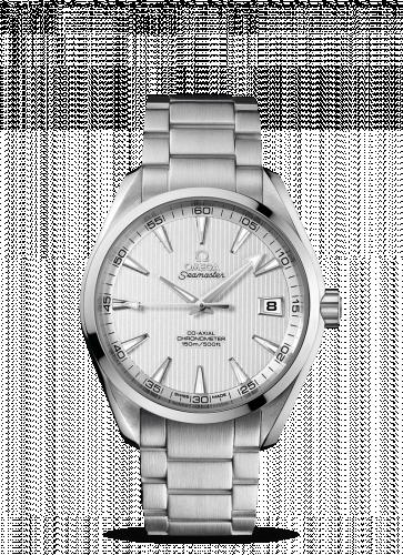231.10.42.21.02.001 : Omega Seamaster Aqua Terra 150m Co-Axial 41.5 Stainless Steel / Silver / Bracelet