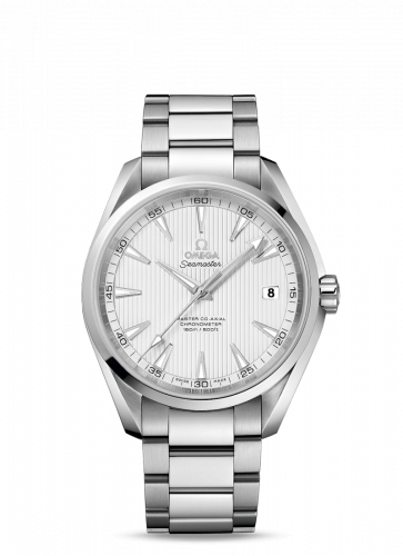 231.10.42.21.02.003 : Omega Seamaster Aqua Terra 150m Master Co-Axial 41.5 Stainless Steel / Silver / Bracelet