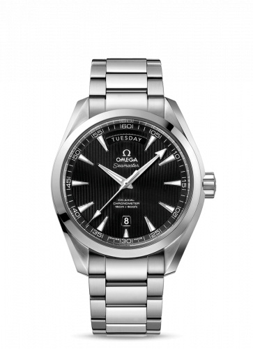231.10.42.22.01.001 : Omega Seamaster Aqua Terra 150m Co-Axial 41.5 Day-Date Stainless Steel / Black