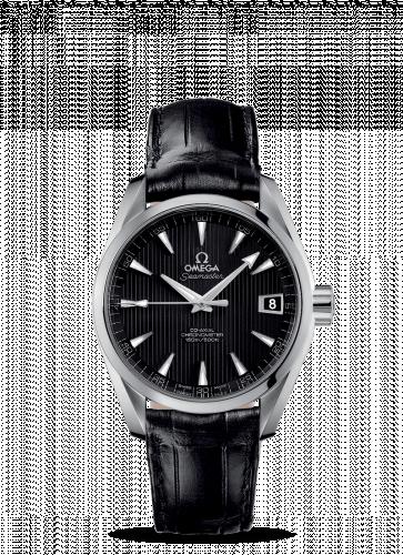 231.13.39.21.01.001 : Omega Seamaster Aqua Terra 150M Co-Axial 38.5 Stainless Steel / Black