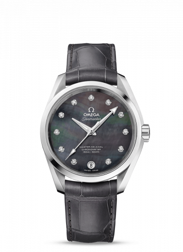 231.13.39.21.57.001 : Omega Seamaster Aqua Terra 150M Master Co-Axial 38.5 Stainless Steel / Grey MOP
