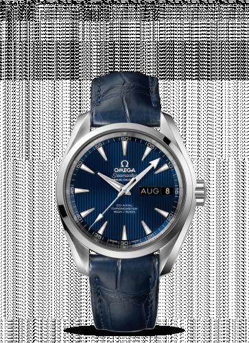231.13.39.22.03.001 : Omega Seamaster Aqua Terra 150M Co-Axial 38.5 Annual Calendar Stainless Steel / Blue