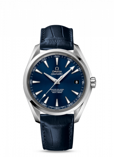 231.13.42.21.03.001 : Omega Seamaster Aqua Terra 150m Master Co-Axial 41.5 Stainless Steel / Blue
