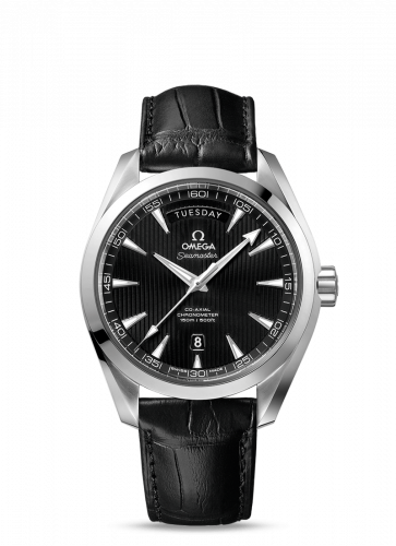 231.13.42.22.01.001 : Omega Seamaster Aqua Terra 150m Co-Axial 41.5 Day-Date Stainless Steel / Black