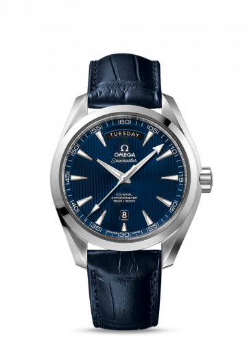 231.13.42.22.03.001 : Omega Seamaster Aqua Terra 150m Co-Axial 41.5 Day-Date Stainless Steel / Blue
