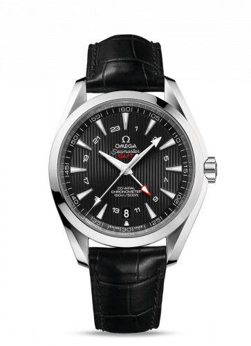 231.13.43.22.01.001 : Omega Seamaster Aqua Terra 150M Co-Axial 43 GMT Stainless Steel / Black