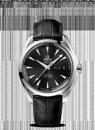 231.13.43.22.01.002 : Omega Seamaster Aqua Terra 150M Co-Axial 43 Annual Calendar Stainless Steel / Black
