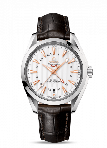 231.13.43.22.02.004 : Omega Seamaster Aqua Terra 150M Co-Axial 43 GMT Stainless Steel / Silver