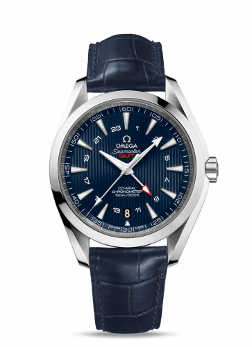 231.13.43.22.03.001 : Omega Seamaster Aqua Terra 150M Co-Axial 43 GMT Stainless Steel / Blue