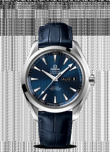 231.13.43.22.03.002 : Omega Seamaster Aqua Terra 150M Co-Axial 43 Annual Calendar Stainless Steel / Blue