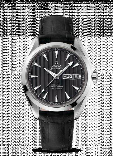 231.13.43.22.06.001 : Omega Seamaster Aqua Terra 150m Co-Axial 43 Annual Calendar Stainless Steel / Grey