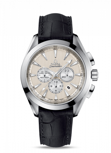 231.13.44.50.09.001 : Omega Seamaster Aqua Terra 150M Co-Axial 44 Chronograph Stainless Steel / Ivory