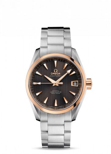231.20.39.21.06.003 : Omega Seamaster Aqua Terra 150M Co-Axial 38.5 Stainless Steel / Red Gold / Grey / Bracelet