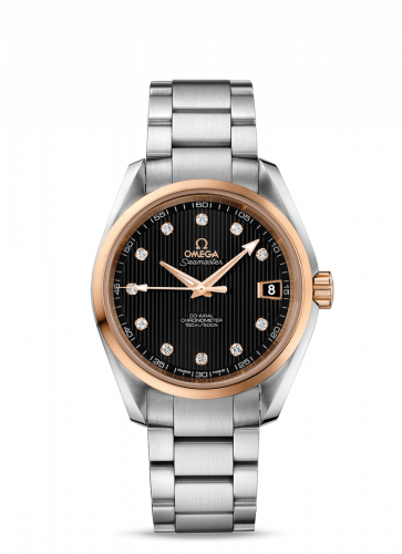 231.20.39.21.51.003 : Omega Seamaster Aqua Terra 150M Co-Axial 38.5 Stainless Steel / Red Gold / Black / Bracelet