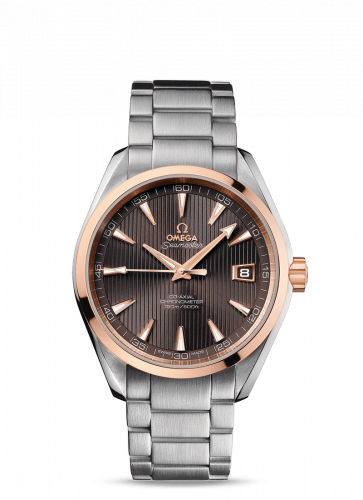 231.20.42.21.06.002 : Omega Seamaster Aqua Terra 150M Co-Axial 41.5 Stainless Steel / Red Gold / Grey / Bracelet