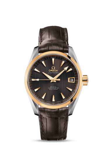 231.23.39.21.06.002 : Omega Seamaster Aqua Terra 150M Co-Axial 38.5 Stainless Steel / Yellow Gold / Grey