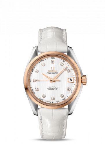231.23.39.21.52.001 : Omega Seamaster Aqua Terra 150M Co-Axial 38.5 Stainless Steel / Red Gold / Silver
