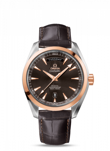 231.23.42.22.06.001 : Omega Seamaster Aqua Terra 150m Co-Axial 41.5 Day-Date Stainless Steel / Red Gold / Grey