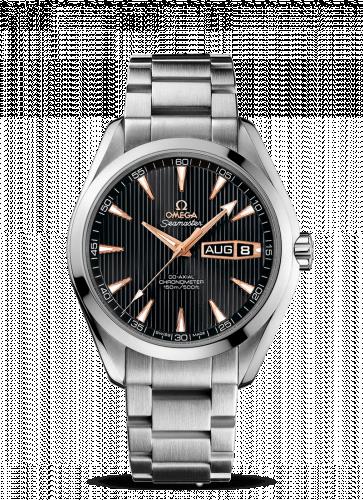 231.50.43.22.01.001 : Omega Seamaster Aqua Terra 150m Co-Axial 43 Annual Calendar White Gold / Grey / Bracelet