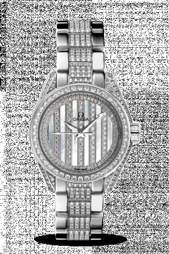 231.55.30.20.55.003 : Omega Seamaster Aqua Terra 150M Co-Axial 30 White Gold / Diamond / MOP / Bracelet
