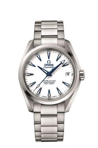 231.90.39.21.04.001 : Omega Seamaster Aqua Terra 150M Master Co-Axial 38.5 Titanium / White / Bracelet / GoodPlanet