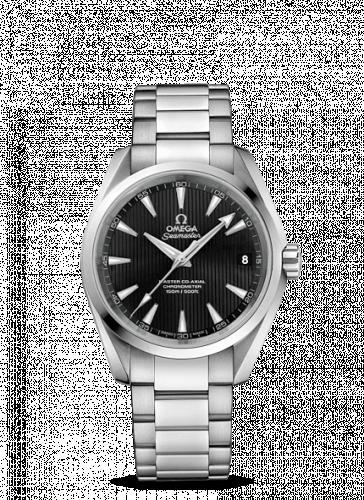 Omega 231.10.39.21.01.002 : Seamaster Aqua Terra 150M Master Co-Axial 38.5 Stainless Steel / Black / Bracelet