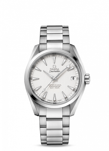 231.10.39.21.02.002 : Omega Seamaster Aqua Terra 150M Master Co-Axial 38.5 Stainless Steel / Silver / Bracelet