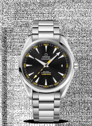231.10.42.21.01.002 : Omega Seamaster Aqua Terra 150m Co-Axial 41.5 Stainless Steel / Black / Bracelet / >15'000 Gauss