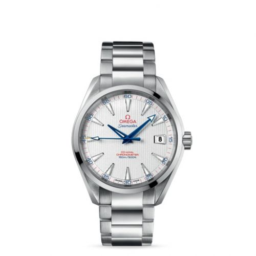 231.10.42.21.02.002 : Omega Seamaster Aqua Terra 150M Co-Axial 41.5 Stainless Steel / Silver / Bracelet / Golf Edition