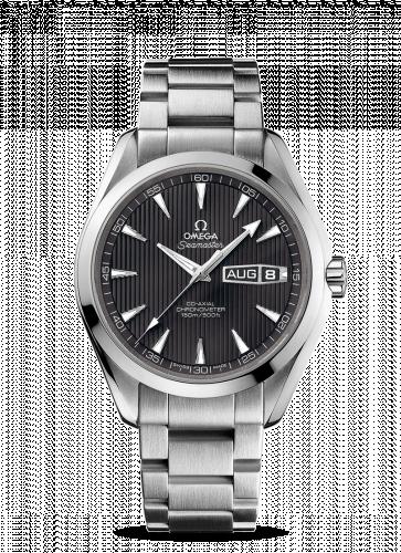 231.10.43.22.06.001 : Omega Seamaster Aqua Terra 150m Co-Axial 43 Annual Calendar Stainless Steel / Grey / Bracelet