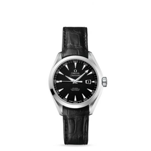 231.13.34.20.01.001 : Omega Seamaster Aqua Terra 150M Co-Axial 34 Stainless Steel / Black