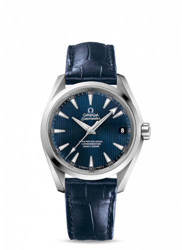 231.13.39.21.03.001 : Omega Seamaster Aqua Terra 150M Master Co-Axial 38.5 Stainless Steel / Blue