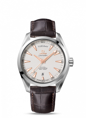 231.13.42.22.02.001 : Omega Seamaster Aqua Terra 150m Co-Axial 41.5 Day-Date Stainless Steel / Silver