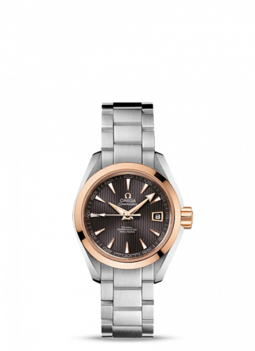 231.20.30.20.06.003 : Omega Seamaster Aqua Terra 150M Co-Axial 30 Stainless Steel / Red Gold / Grey / Bracelet