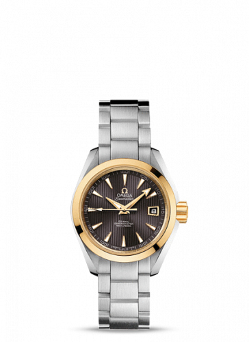 231.20.30.20.06.004 : Omega Seamaster Aqua Terra 150M Co-Axial 30 Stainless Steel / Yellow Gold / Grey / Bracelet