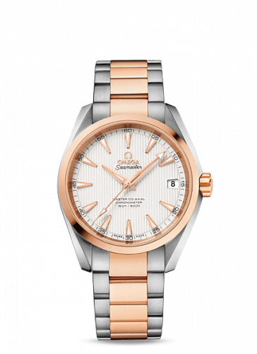 231.20.39.21.02.001 : Omega Seamaster Aqua Terra 150m Master Co-Axial 38.5 Stainless Steel / Red Gold / Silver / Bracelet