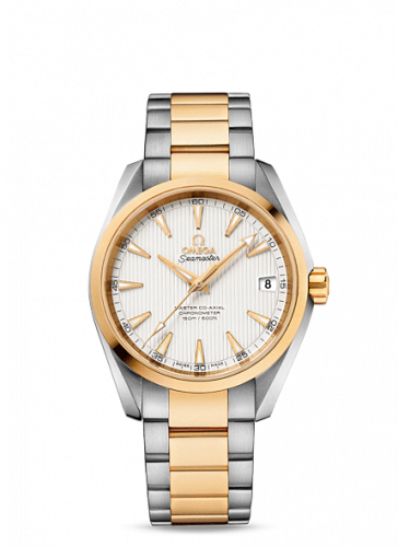 231.20.39.21.02.002 : Omega Seamaster Aqua Terra 150m Master Co-Axial 38.5 Stainless Steel / Yellow Gold / Silver / Bracelet
